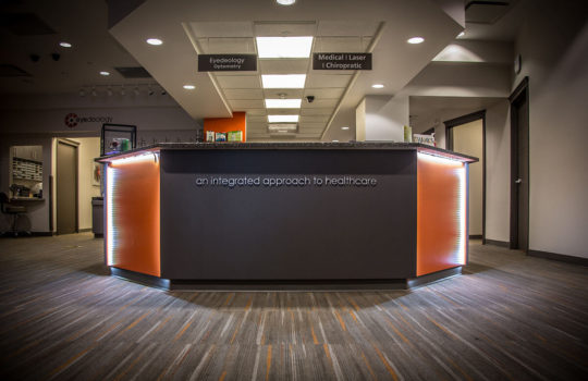 Reception Desk - Centennial Wellness